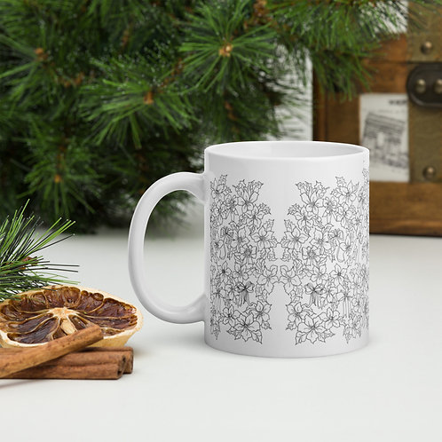 Color your own Holiday Mug