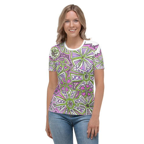 Wearable Art Graphic Women's T-shirt