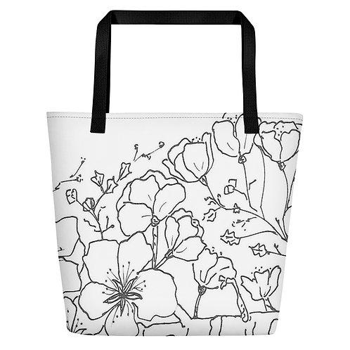 Wearable ARt Beach Bag