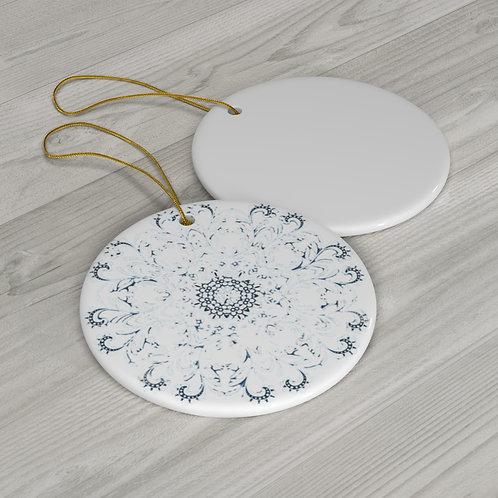 Round Ceramic Ornaments