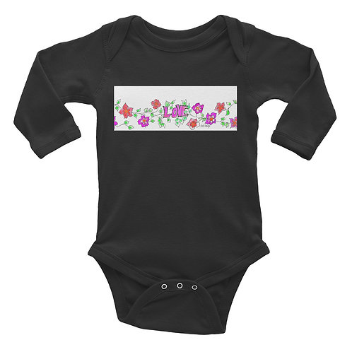 Love this little Infant Long Sleeve Bodysuit, art by CWO DEsgin
