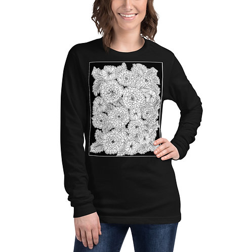 Color Your Own CWO Design Unisex Long Sleeve Tee