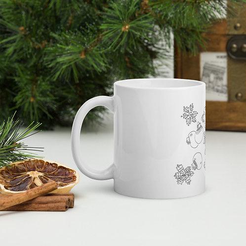 Christmas Mug you can color