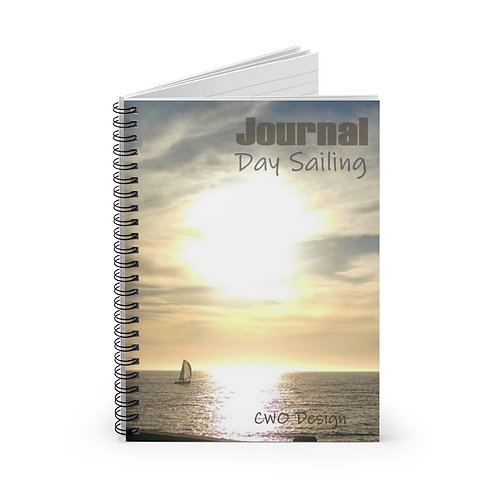 Day Sailing Journal, Spiral Notebook - Ruled Line