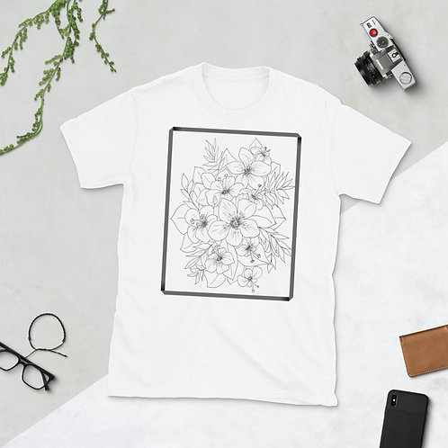 Color in your own Short-Sleeve Unisex T-Shirt
