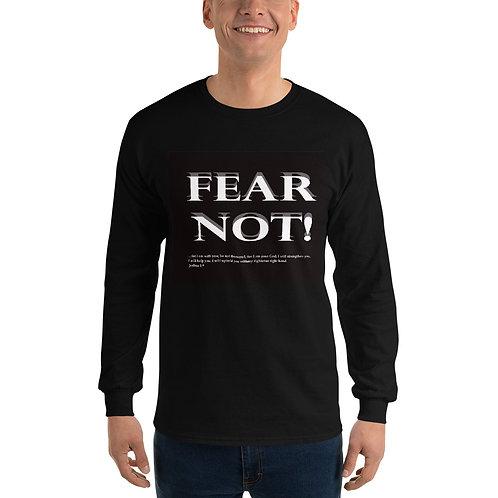 Fear Not, Men's Long Sleeve Shirt