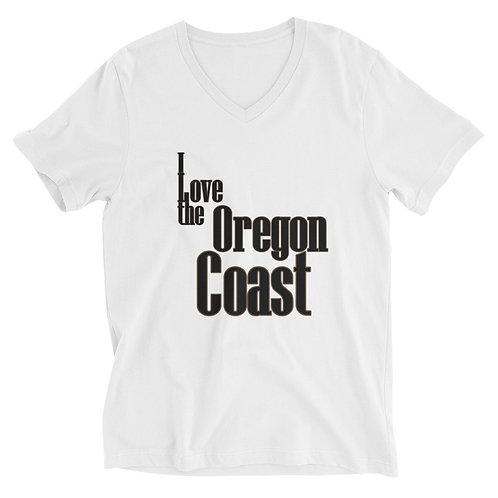 I love the Oregon Coast Unisex Short Sleeve V-Neck T-Shirt