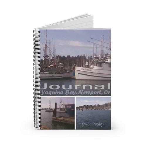 Newport Oregon, Spiral Notebook - Ruled Line