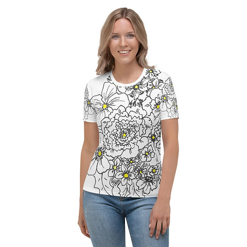 Wearable ARt with a touch of yellow Women's T-shirt