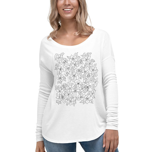 Color your own Ladies' Long Sleeve Tee