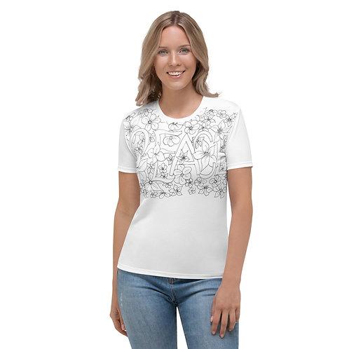 Wearable Art, PEACE Women's T-shirt