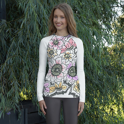 Wearable ARt Women's Rash Guard