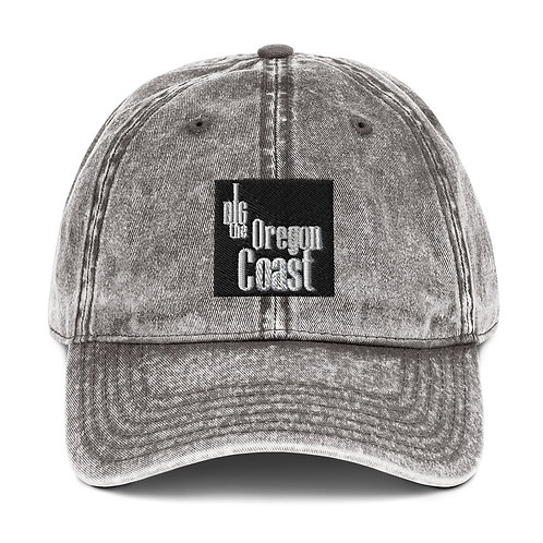I Dig the Oregon Coast Vintage Cotton Twill Cap