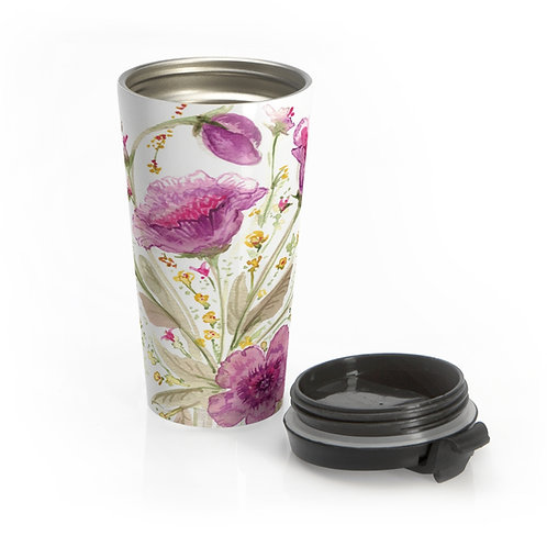 CWO Design Stainless Steel Travel Mug with lid