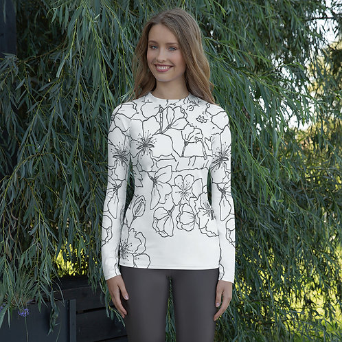 Women's Wearable Art Rash Guard