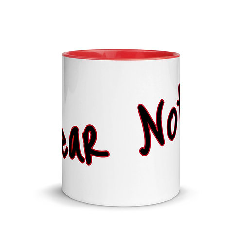 Fear Not!  Mug with Color Inside