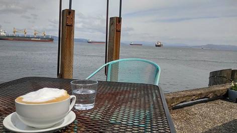 Coffee Girls...a great local spot in Astoria, Oregon