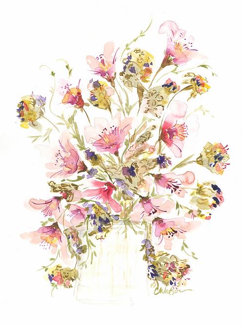 Original watercolor  11x15
