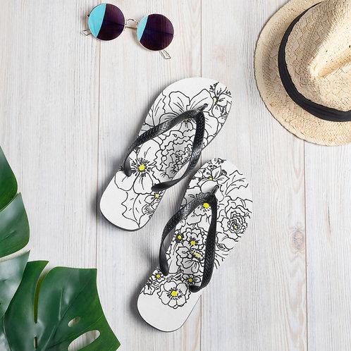 Wearable ARt Flip-Flops