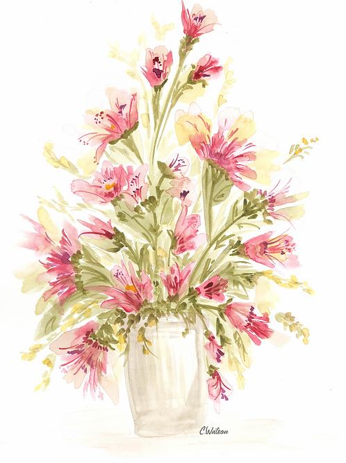 All original watercolor painting 11x15