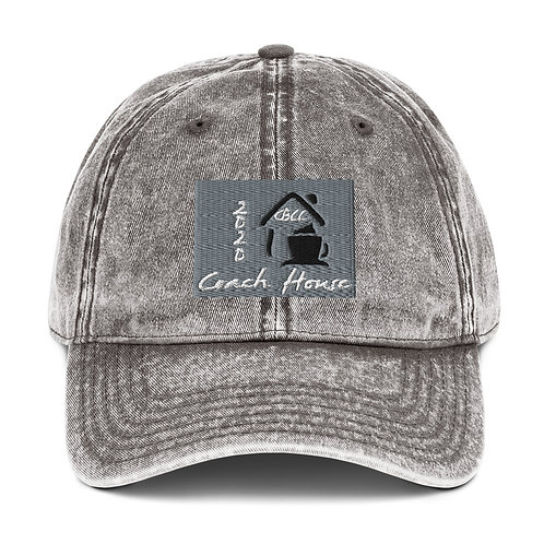 Coach house Vintage Cotton Twill Cap