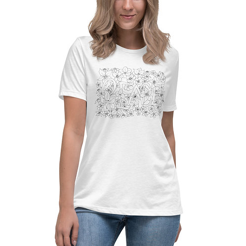 Women's Peaceful and Relaxed T-Shirt