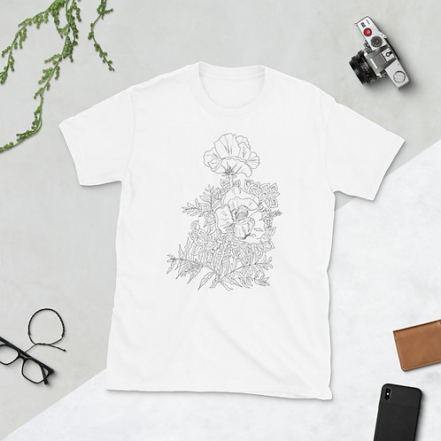 Color in your Short-Sleeve Unisex T-Shirt