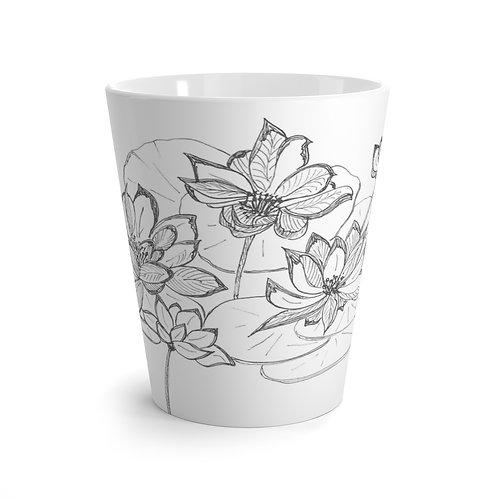 Lotus Latte Mug