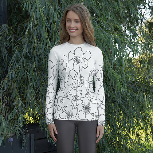 Women's Wearable art  Rash Guard T