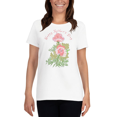 Happy Mothers Day, Women's short sleeve t-shirt