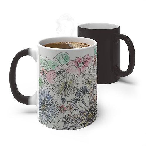 Floral Color Changing Mug