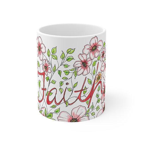 Faith colored Mug 11oz