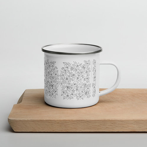 Holiday Enamel Mug