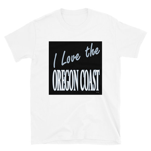 I love the Oregon Coast Short-Sleeve Unisex T-Shirt