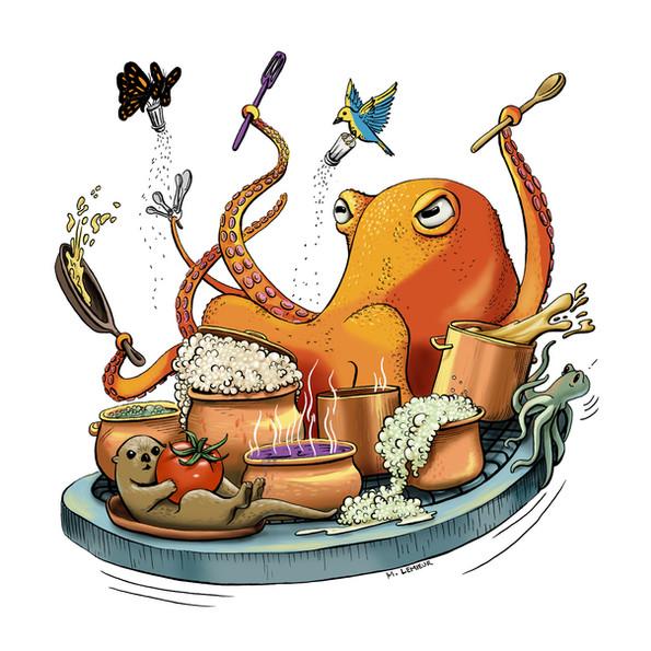 Meg Lemieur Octopus