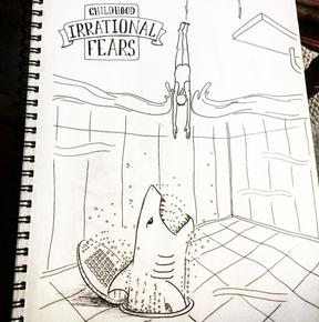 Phobia Sketch, Meg Lemieur