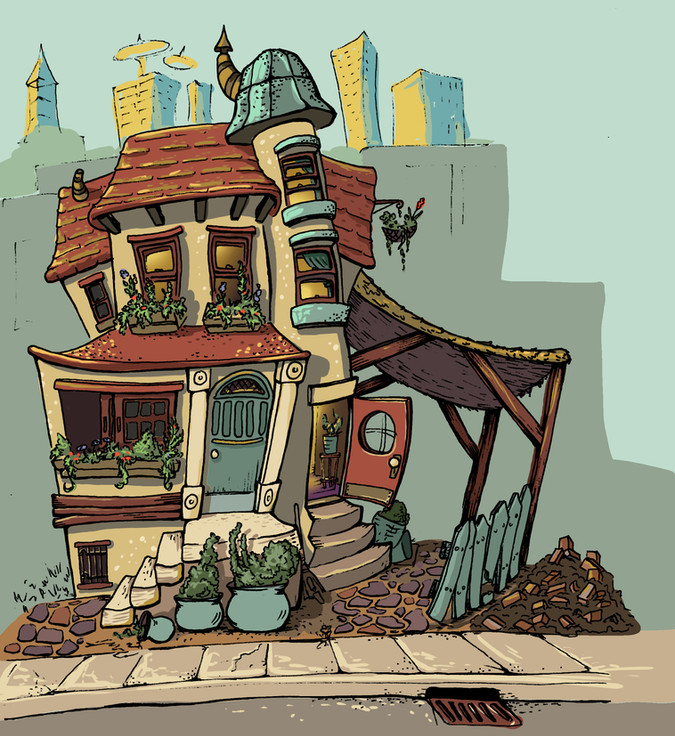 Jack and the Beanstalk; house study