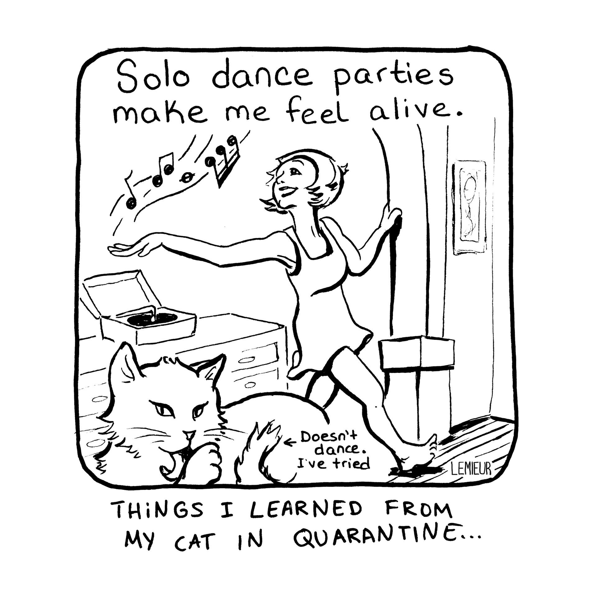 """""""Dance Party"""" by Meg Lemieur"""