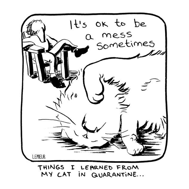 """""""A Mess"""" by Meg Lemieur"""