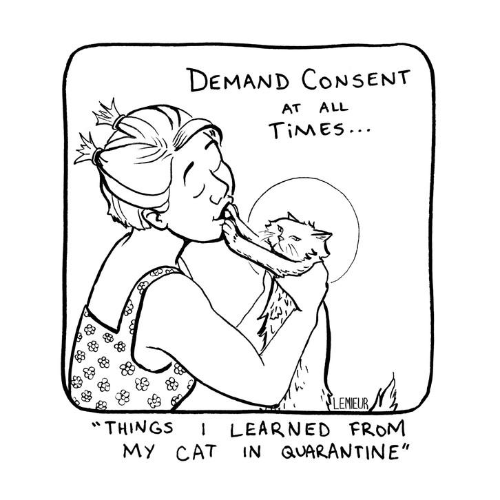 """""""Consent"""" by Meg Lemieur"""