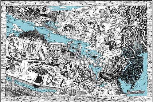 Water Ways Poster