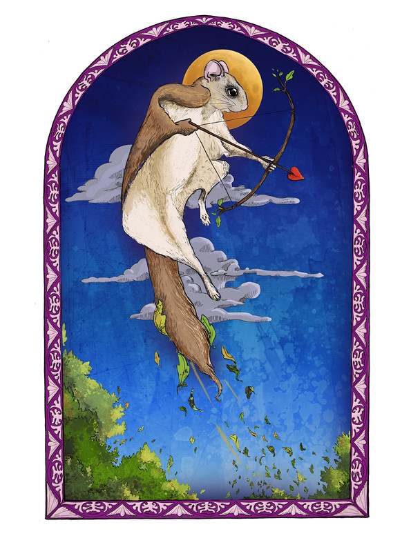 Flying Squirrel Cupid