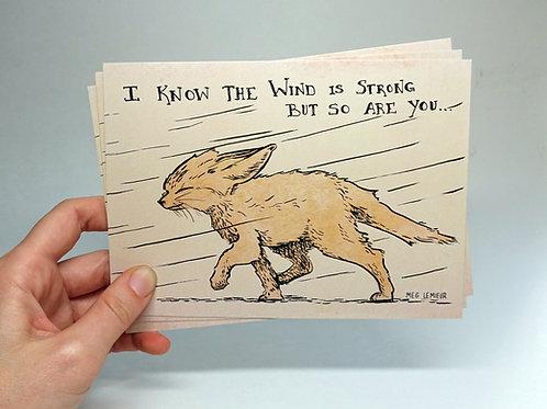 Little Fox 5x7 print
