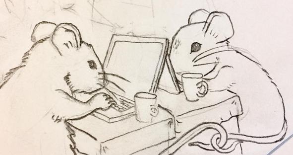 Mice on Computers, Meg Lemieur