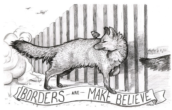 Borders Are Make Believe