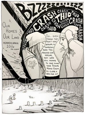 Comic: Our Homes Our Land