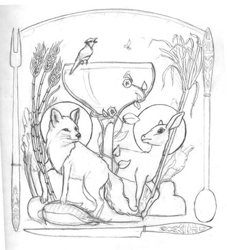 Logo Sketch, Meg Lemieur