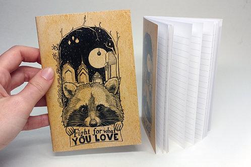 Raccoon booklet