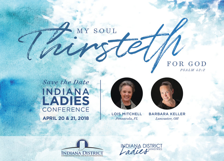 "Indiana 2018 Ladies Conference ""Thirsteth"""