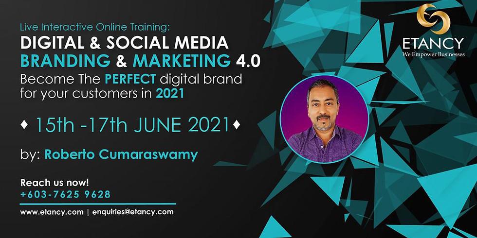 Digital & Social  Media Branding & Marketing 4.0 (INTL)